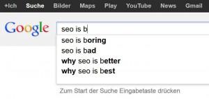 google suggest seo is