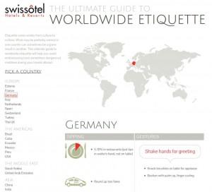 swissotel worldwide etiquette