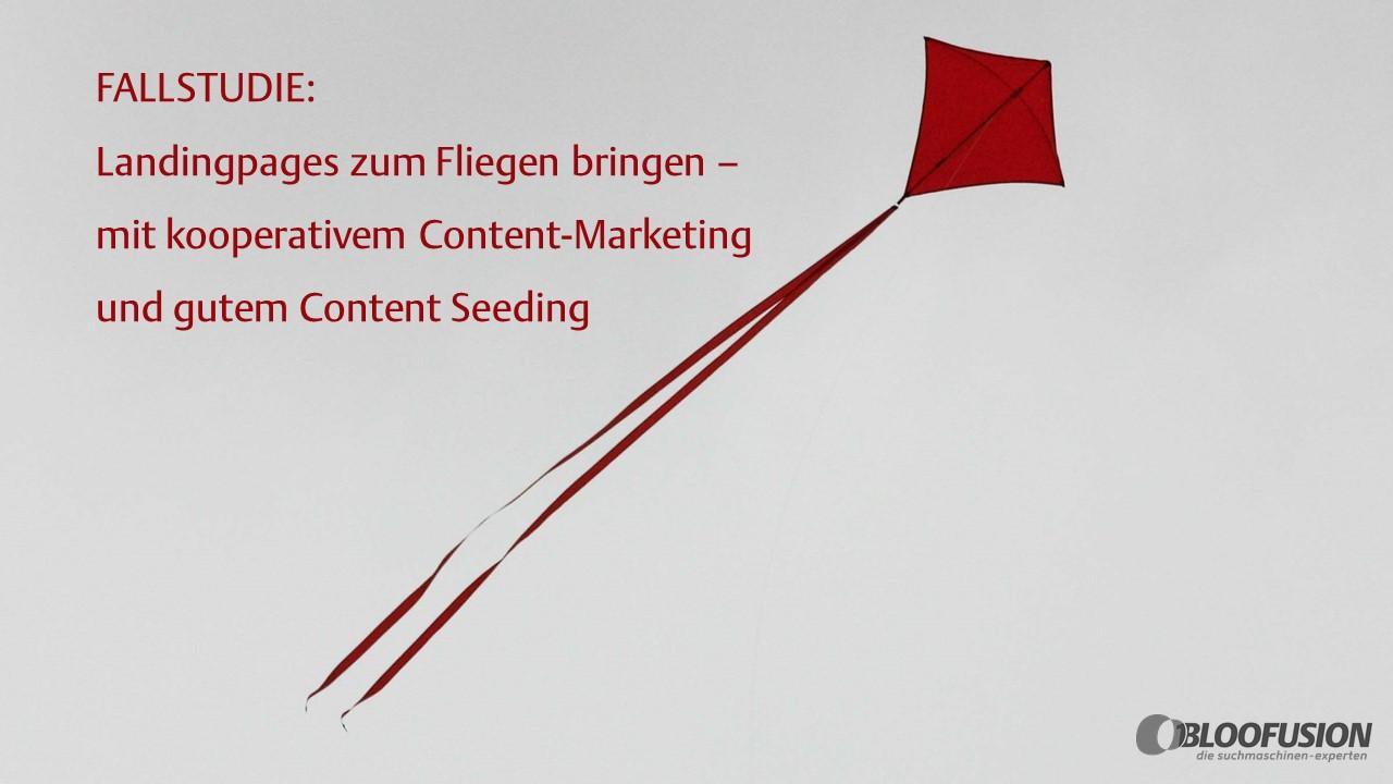 Fallstudie Content Seeding: Kooperatives Content-Marketing in der ...
