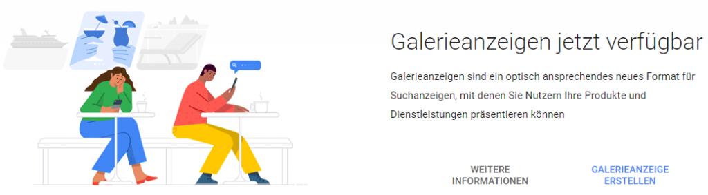 Galerieanzeigen Fur Google Ads Erfolgsfaktoren Und Einschatzung Bloofusion Blog