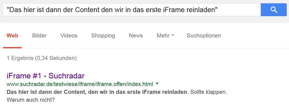 Kann Google Inhalte aus Iframes erkennen und indexieren ...