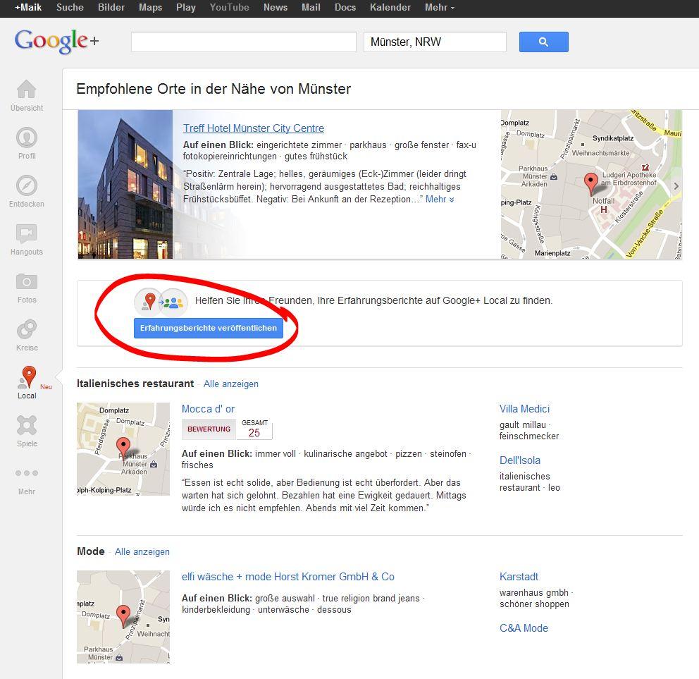 Google Schluckt Google Places Schmeckt Gut Bloofusion Blog
