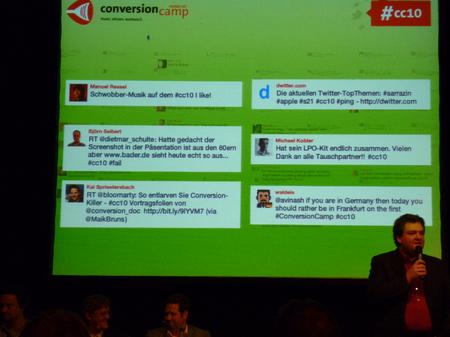 Twitter-Buzz während der Veranstaltung
